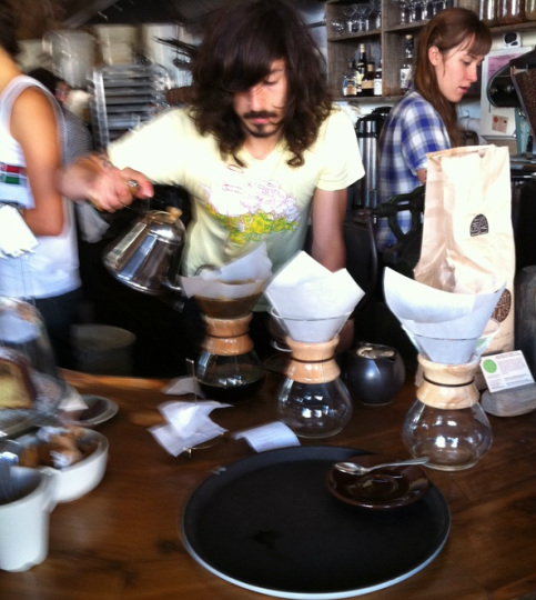 Chemex Coffee Maker Europe : Outerlands Cafe - Chemex Coffee Maker - AM Musings